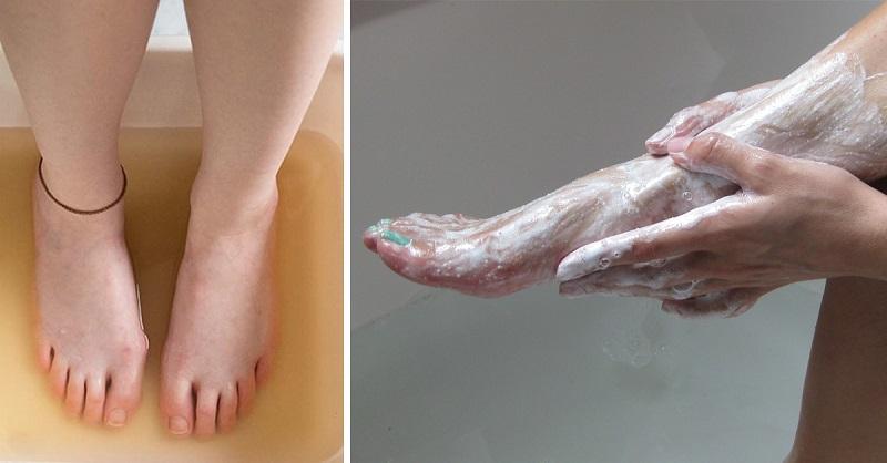Она втирала соду в ноги каждый день на протяжении 2 недель. Результат? Я еще такого не видела!