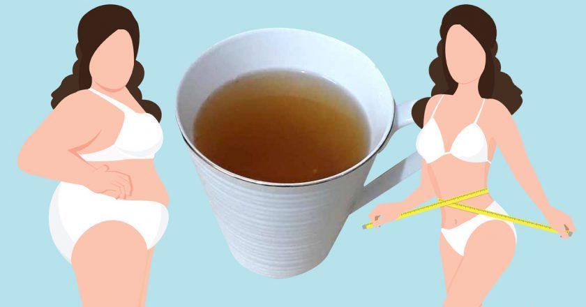 Было L — стало М: пей вместо чая, чтобы похудеть на размер за неделю! Живот словно вакуумом втянуло.